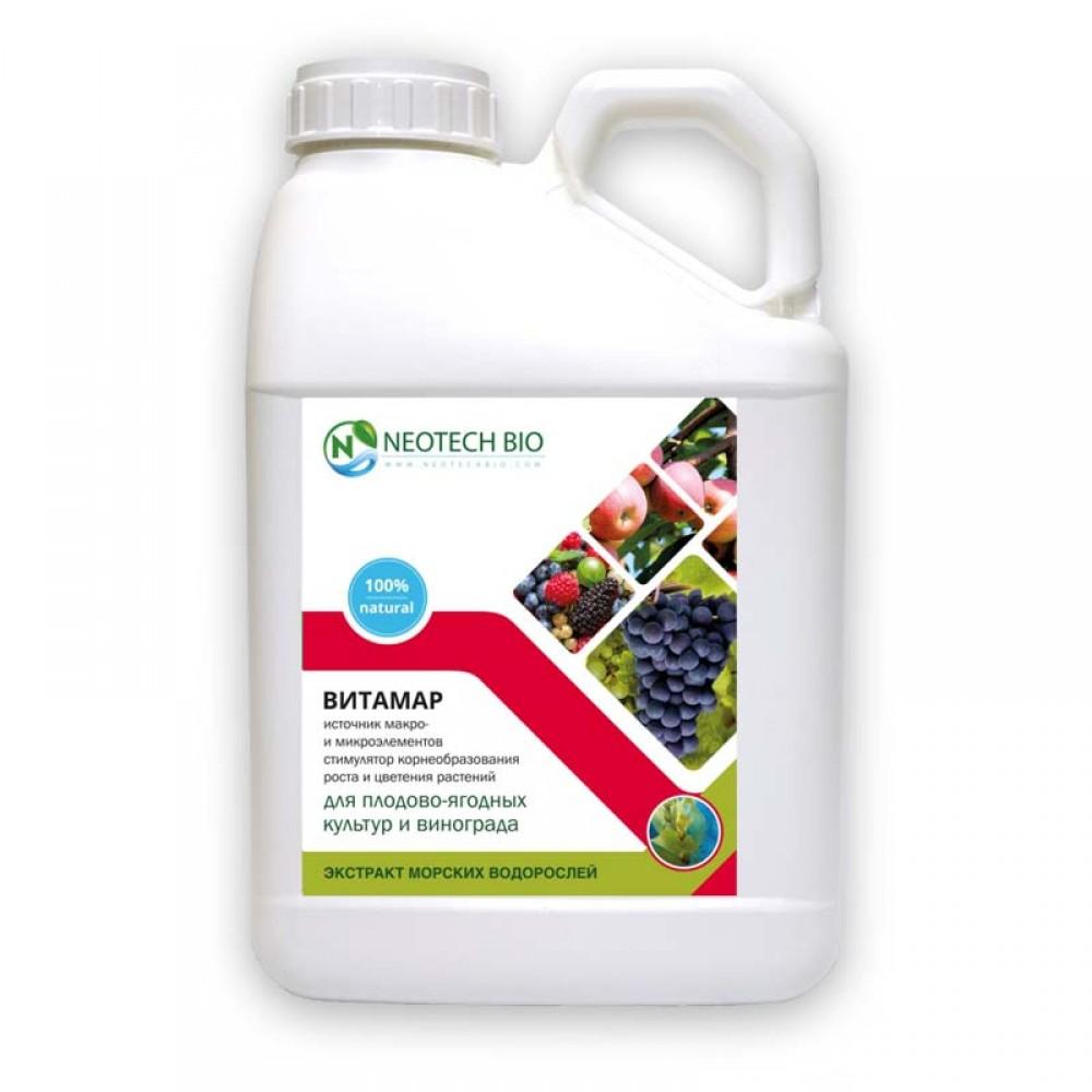 ВИТАМАР для плодово-ягодных культур и винограда 5 л